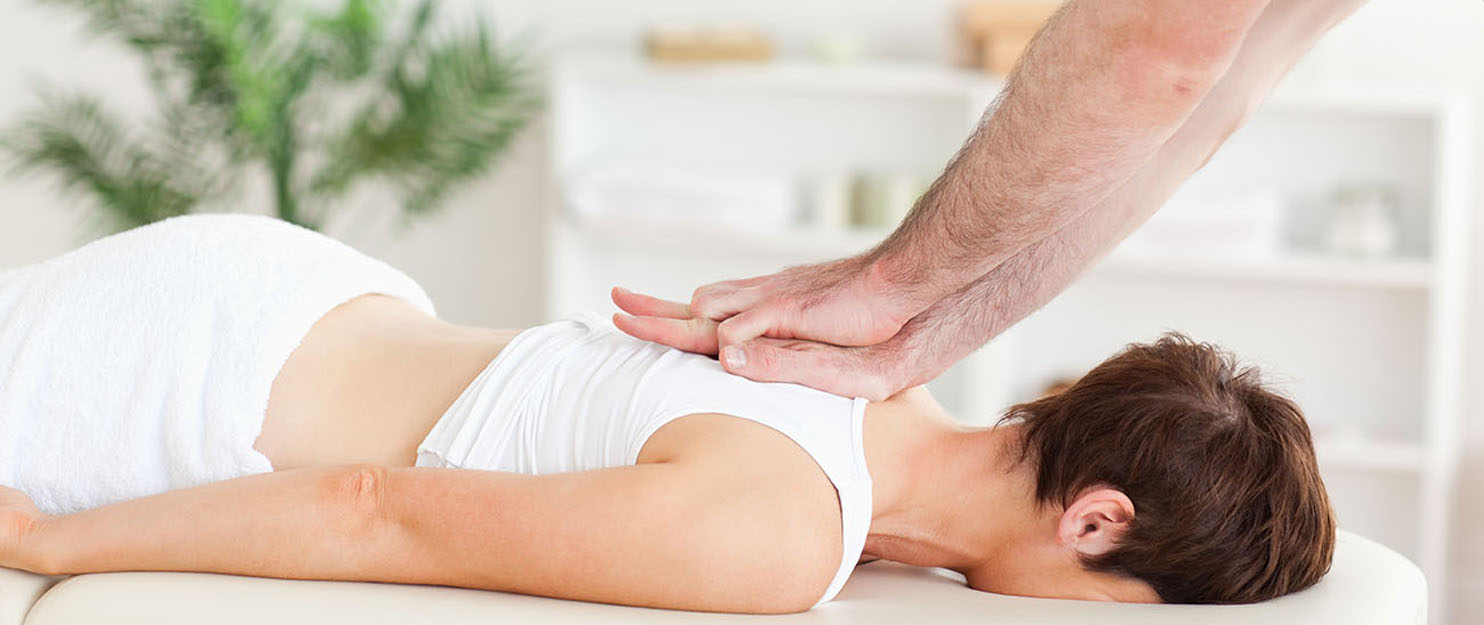 Chiropractor doing a chiropractic adjustment